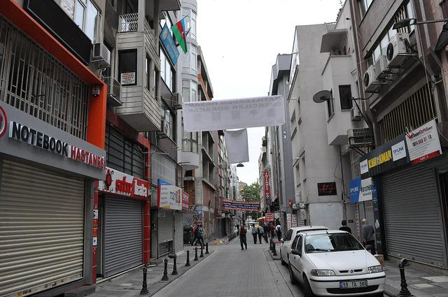 Ул. Нюжет Эфенди, Стамбул