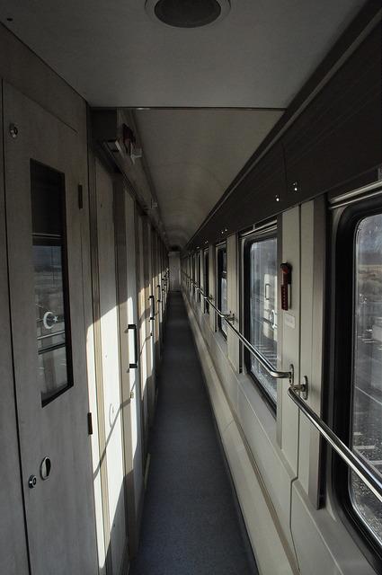 Коридор вагона турецкого СВ