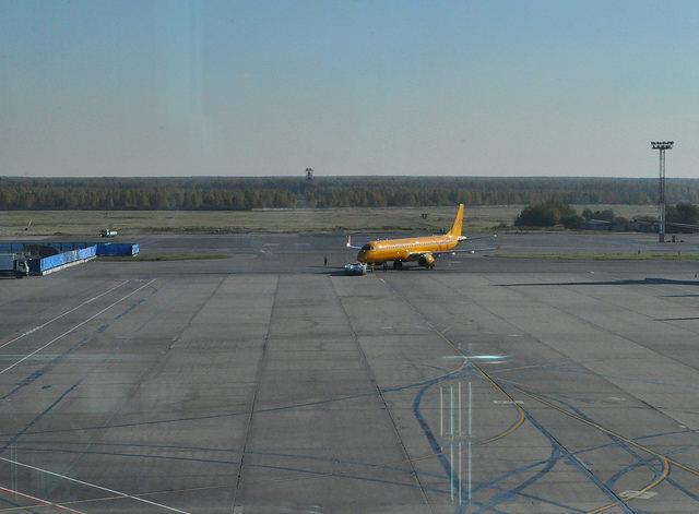 В ожидании вылета в Домодедово