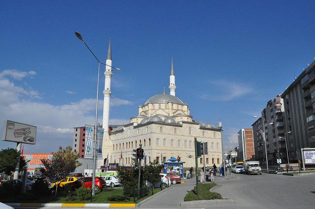 Мечеть Мехмет Захид Котку в Эрзуруме