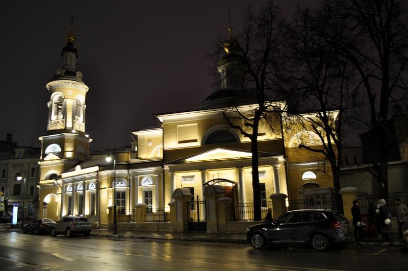 Храм Рождества Пресвятой Богородицы, что в Кулишках