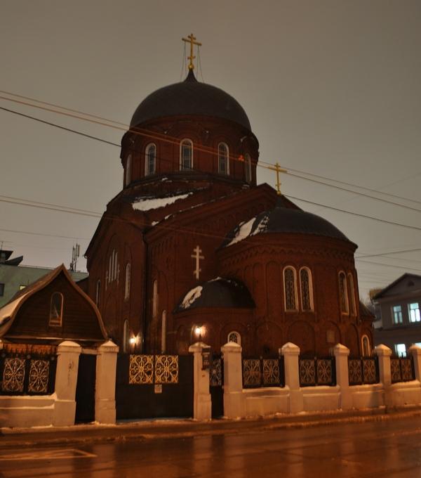 Старообрядческий храм Покрова Пресвятой Богородицы