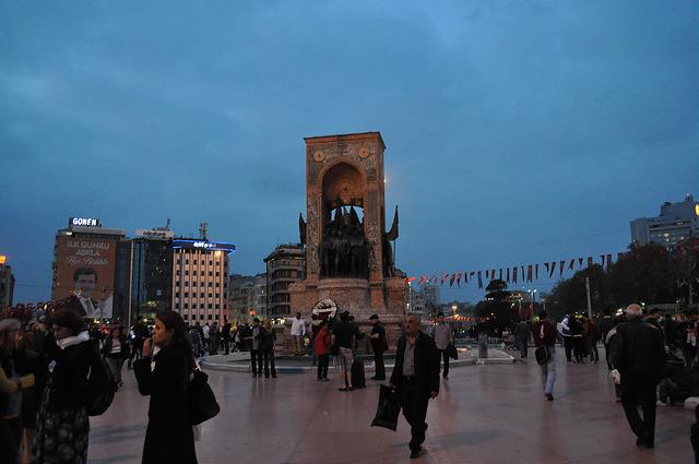 Монумент Республики, Стамбул