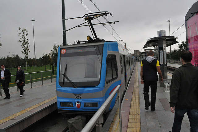 Трамвайная линия Т4, Топкапы, Стамбул