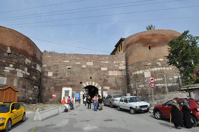 Вход в крепость Анкары