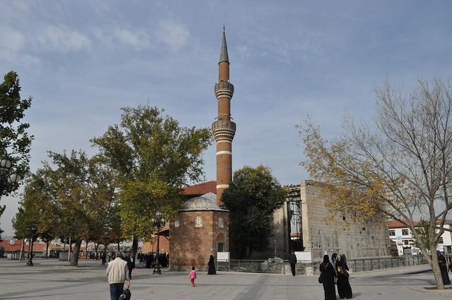 Мечеть Хаджи Байрам, храм Августа, мавзолей, Анкара