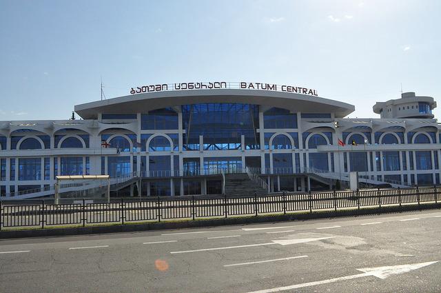 Новый вокзал Батуми