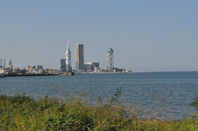 Вид на Батуми с ул. Царицы Тамари