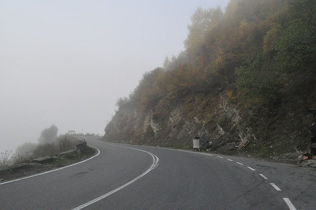 Военно-Грузинская дорога перед Сетурни