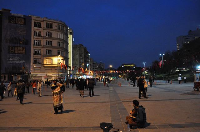 Улица Cumhuriyet, Стамбул