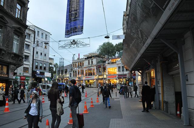 Площадь Тюнель, Стамбул