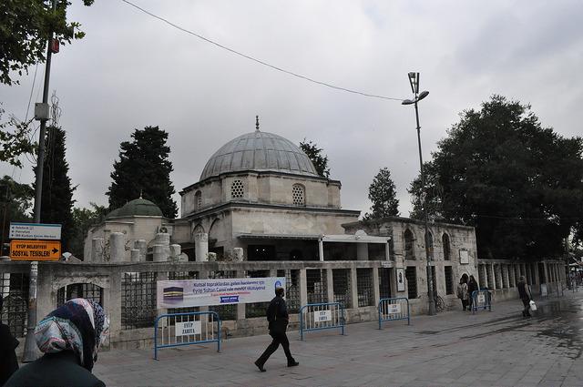 Гробница Эйюпа Аль-Ансари, Стамбул