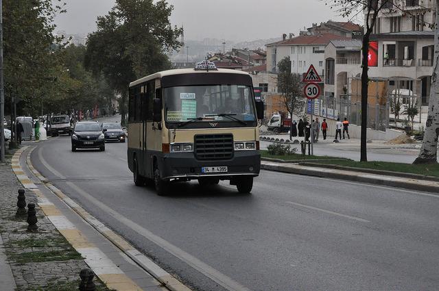 Долмуш в Стамбуле