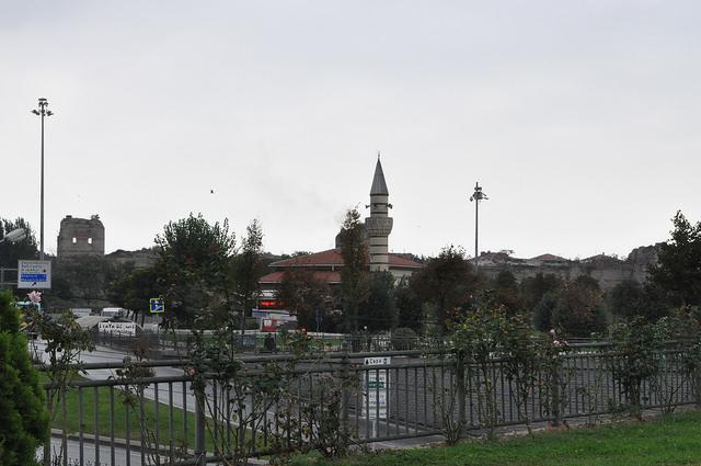 Мечеть Топкапы Бахаттин Улусой, Стамбул