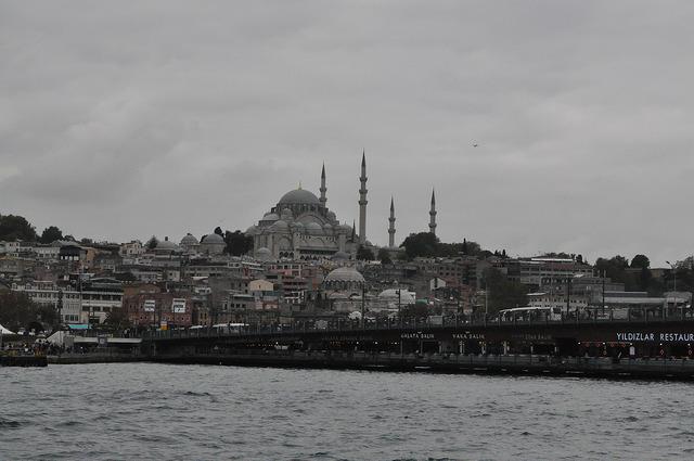 Галатский мост и Новая мечеть (Ени-Джами), Стамбул