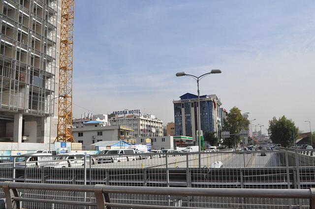 Стамбульское шоссе в Анкаре