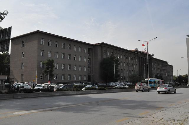 Управление TCDD (Турецких ж/д) в Анкаре