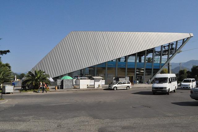 Нижняя станция канатной дороги в Батуми