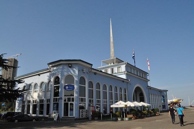 Морской вокзал Батуми