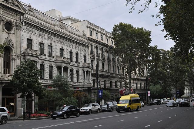 Бывшее здание Закавказского госбанка, отель Мариотт, Тбилиси