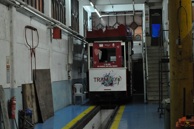 Депо ретротрамвая Стамбул