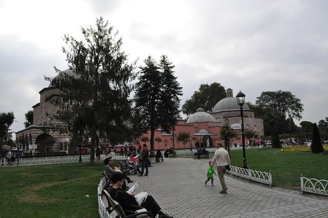 Бани Роксоланы, Стамбул