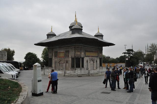 Фонтан Ахмеда III (фонтан Палача), Стамбул