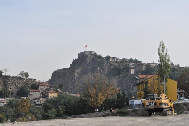 Вид на крепость Анкары