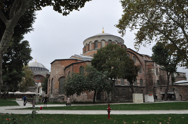 Церковь св. Ирины, Стамбул