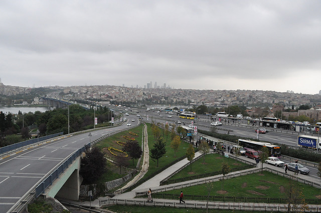 Развязка Айвансарай, Стамбул