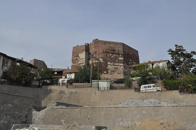 Башня Зиндан, крепость Анкара
