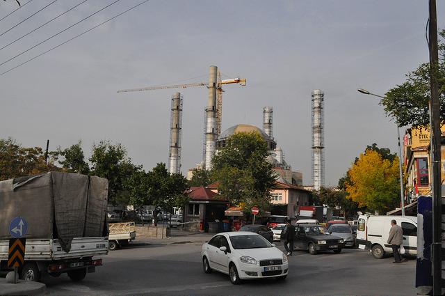 Строительство мечети в Анкаре