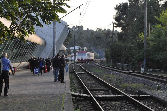 Пригородный поезд Тбилиси-Озургети