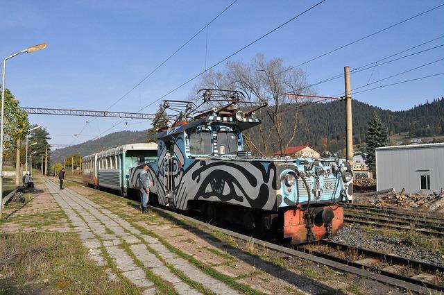 Поезд на ст. Бакуриани