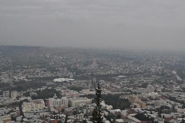 Тбилиси с Мтацминды