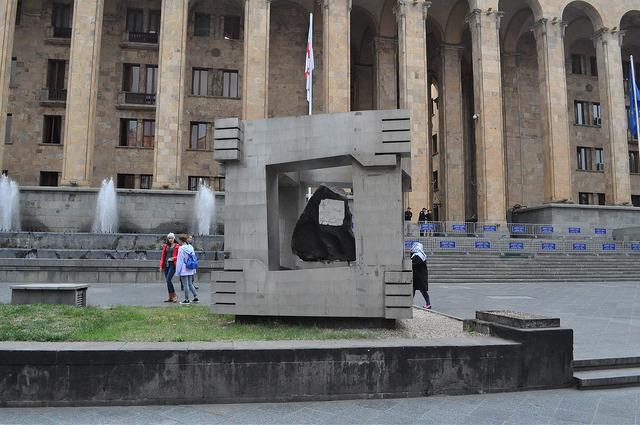Мемориал памяти жертв событий 9 апреля, Тбилиси