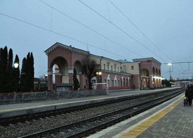 Вокзал ст. Орёл