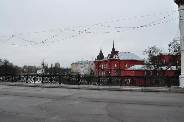 Вид с Александровского моста в Орле