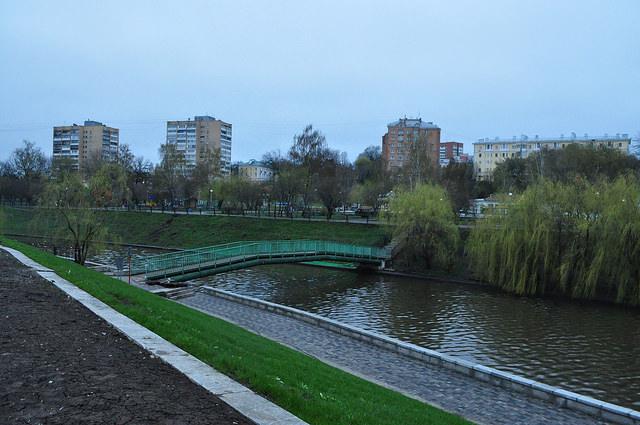 Трубный мост через Орлик, Орёл