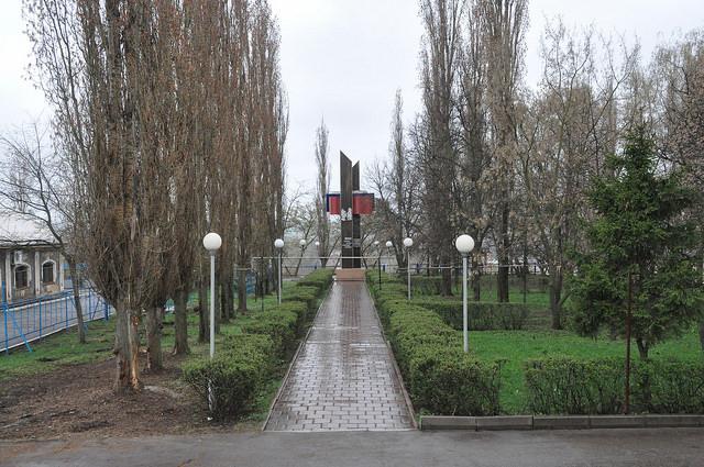 Памятный знак в честь 400-летия г. Ливны