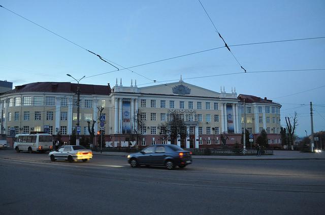 Курский государственный медицинский университет (КГМУ) – главный корпус