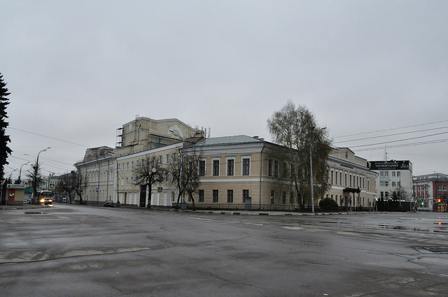 Здание бывшей Орловской гимназии (истфак ОГУ)