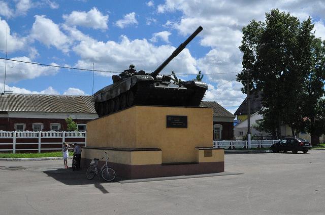 Танк Т-72, Комаричи