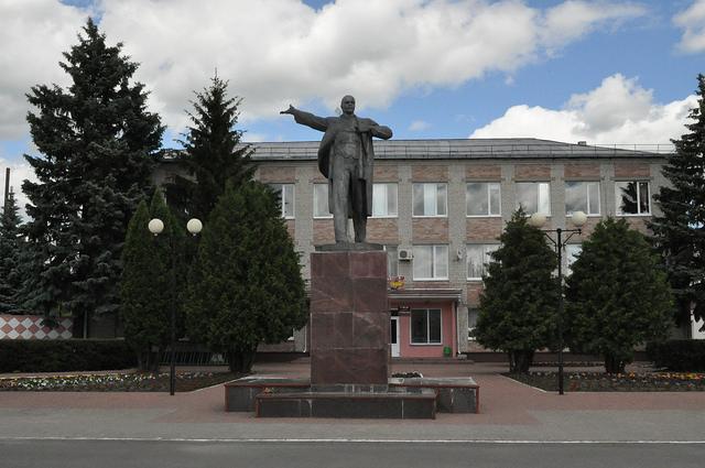 Памятник Ленину в Комаричах