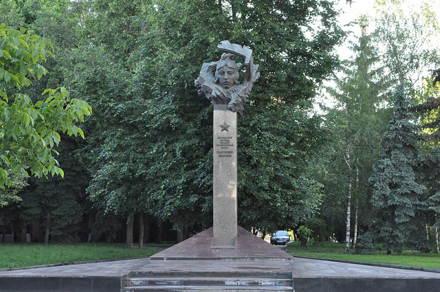 Памятник Е.И. Зеленко, Курск