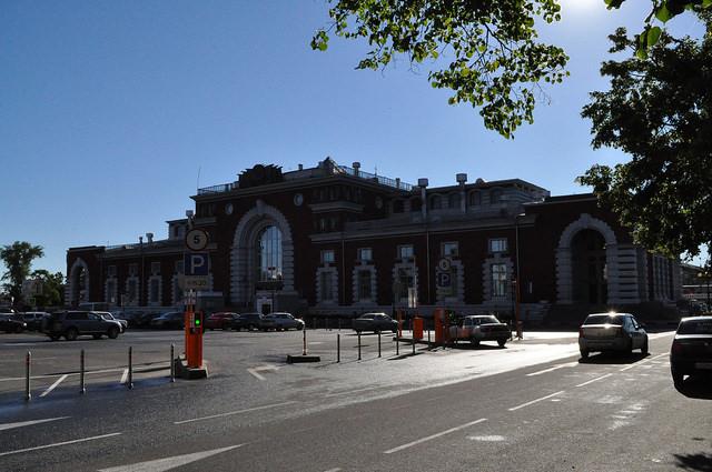 Вокзал в Курске