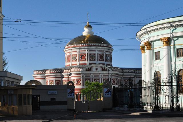 Церковь Воскресения Христова в Знаменском монастыре, Курск