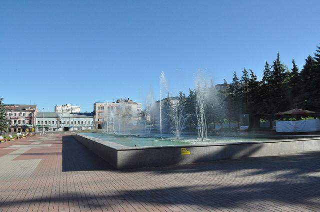 Цветомузыкальный фонтан, Курск
