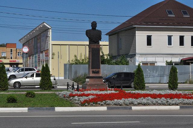 Бюст маршала Катукова (Озёры)