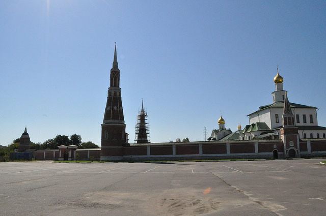Северо-восточная часть Старо-Голутвина монастыря
